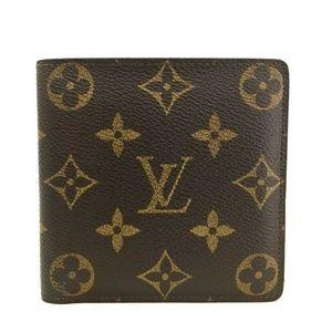 Auth Louis Vuitton Portefeiulle Marco #1038L11
